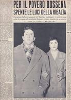 (pagine-pages)BRUNO DOSSENA   Oggi1958/13. - Altri