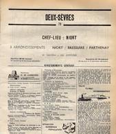 ANNUAIRE - 79 - Département Deux Sèvres - Année 1969 - édition Didot-Bottin - 102 Pages - Pub Courrier De L'Ouest - Elenchi Telefonici