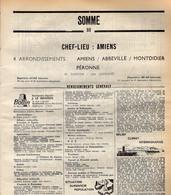 ANNUAIRE - 80 - Département Somme - Année 1969 - édition Didot-Bottin - 170 Pages - Elenchi Telefonici