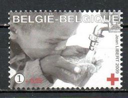 BELGIQUE. Timbre De 2009. Croix Rouge/Eau Potable. - Croce Rossa