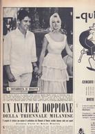 (pagine-pages)BRIGITTE BARDOT  Oggi1958/35. - Altri