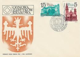 Poland FDC.2804-05: Monuments Of Krakow - FDC
