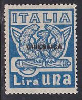 STAMPS-ITALY-CIRENAICA-1923-UNUSED-NO-GUM-SEE-SCAN - Cirenaica