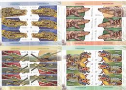 Romania 2020 Mih. 7789/92 Fauna. Crocodiles (4 M/S) MNH ** - Non Classificati