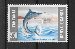 Ostafrikanische Gemeinschaft 1966 Fische Mi.Nr. 151 ** - Kenya, Uganda & Tanzania