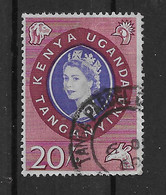 Ostafrikanische Gemeinschaft 1960 Königin Mi.Nr. 123 Gestempelt - Kenya, Uganda & Tanganyika