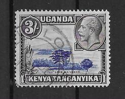 Ostafrikanische Gemeinschaft 1935 Mi.Nr. 41 Gestempelt - Kenya, Uganda & Tanganyika
