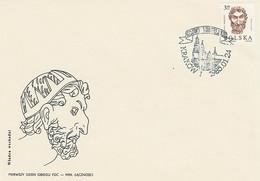 Poland FDC.2812: Wawel Heads (III) - FDC