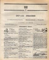 ANNUAIRE - 83 - Département Var - Année 1969 - édition Didot-Bottin - 220 Pages - Elenchi Telefonici