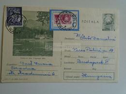 D184896  Romania  Uprated Postal Stationery    - Cancel  1967 Oradea    Sent To Hungary - Vedere Din Tusnad Bai - Cartas