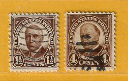 Timbre Etats-Unis N° 292 - 293 - Used Stamps
