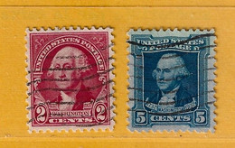 Timbre Etats-Unis N° 302 - 305 - Used Stamps