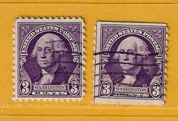 Timbre Etats-Unis N° 313 - 313b - Used Stamps