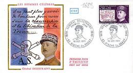 France 1689 Fdc Général Delestraint, Espionage Renseignement - Seconda Guerra Mondiale