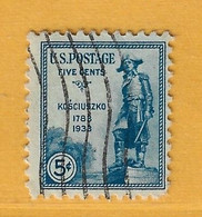 Timbre Etats-Unis N° 324 - Used Stamps
