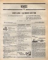 ANNUAIRE - 85 - Département Vendée - Année 1969 - édition Didot-Bottin - 108  Pages - Elenchi Telefonici