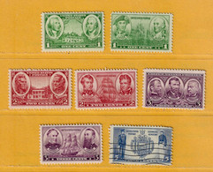 Timbre Etats-Unis N° 351 - 352 - 353 - 354 - 355 - 356 - 359 - 360 - Used Stamps