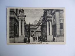 CITTA DEL VATICANO  -   Il Cancello Da S. Anna    -  VATICAN - Vaticano