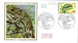 France 1692 Fdc Cameleon - Non Classificati