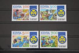 Kenia 322-325 ** Postfrisch Pfadfinder #WP193 - Kenya (1963-...)