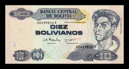 Bolivia 10 Bolivianos L.1986 (1997) Pick 204c Serie E SC UNC - Bolivia