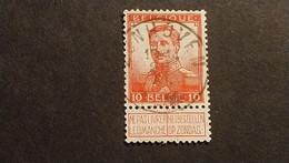 """N 111  Afst./Obl.  """" ZONHOVEN """" - 1912 Pellens"""
