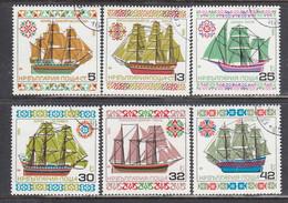 Bulgaria 1986 - Ships, Mi-Nr. 3504/09, Used - Gebraucht