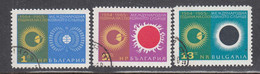Bulgaria 1965 - International Years Of The Calm Sun, Mi-Nr. 1589/91, Used - Gebraucht