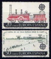 ESPAGNE - 2563/2564** - EUROPA / TRANSPORT ET COMMUNICATION - 1981-90 Nuovi