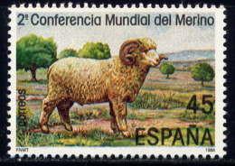 ESPAGNE - 2450** - 2è CONFERENCE MONDIALE SUR LE MERINOS - 1981-90 Nuovi