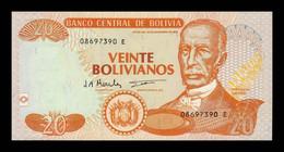 Bolivia 20 Bolivianos L.1986 (1997) Pick 205c Serie E SC UNC - Bolivia
