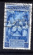 Vaticano 1939 - Serie Incoronazione Pio XII, 1,25 Lire (o) - Oblitérés
