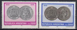 ARGENTINA 1539-1540,unused - Monete