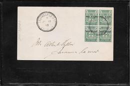 Jamaica 1918, War Stamps  On Cover, Savannah La Mar Postmark ( Ref 2534h) - Jamaica (...-1961)