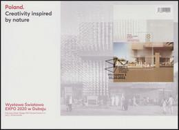 Poland 2021 EXPO 2020 World Exhibition In Dubai, Architecture, Polish Culture, Exposition FDC New!!! - Dubai