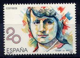 ESPAGNE - 2605** - MARIA DE MAETZU - 1981-90 Nuovi