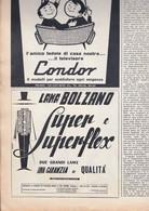(pagine-pages)PUBBLICITA' LAMA BOLZANO   Oggi1959/42. - Altri