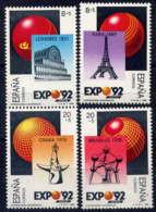 ESPAGNE - 2606/2609** - EXPOSITION UNIVERSELLE DE SEVILLE - 1981-90 Nuovi
