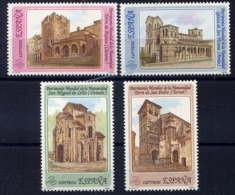 ESPAGNE - 2704/2707** - PATRIMOINE MONDIAL - 1981-90 Nuovi