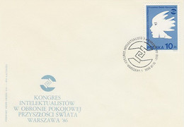 Poland FDC.2865: Congress Of Intellectuals - FDC