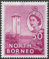 North Borneo. 1954-59 QEII. 50c MH SG 382 - North Borneo (...-1963)