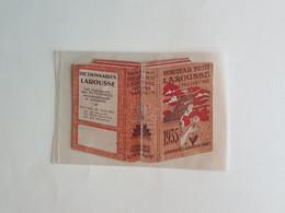 CALENDRIER  AGENDA  1935  PUBLICITE   PETIT  LAROUSSE  ILLUSTRE - Formato Piccolo : 1921-40