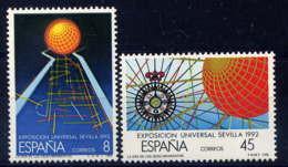 ESPAGNE - 2553/2554** - EXPOSITION UNIVERSELLE DE SEVILLE - 1981-90 Nuovi