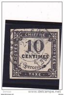 FRANCE 1859 TAXE Yvert  2 Oblitérés, Used Cote : 20 Euros - 1859-1955 Used