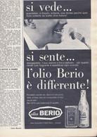 (pagine-pages)PUBBLICITA' OLIO BERIO    Oggi1963/18. - Altri