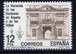 ESPAGNE - 2270** - HÔTEL ROYAL DE LA MONNAIE A SEVILLE - 1981-90 Nuovi