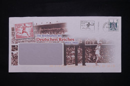 """ALLEMAGNE - Entier Postal Illustré""""Souvenir Des Jeux Olympiques De 1936 Avec Oblitération De 2002 - L 108473 - Umschläge - Gebraucht"""