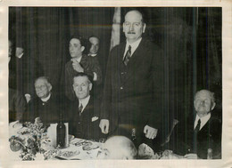 FLANDIN MINISTRE DES FINANCES A CAUDERAN 1931-1932 PHOTO DE PRESSE ORIGINALE 18 X 13 CM - Personalità