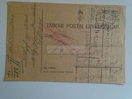 D184905  Hungary Tábori Posta Feldpost  1917  K.u.K. Feldpostampt  -5.Népfront Gyalogezred Szakáli András-román Betörés - Militaria