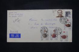 CHINE - Enveloppe De Shanghai Pour La France En 1995 - L 108483 - Briefe U. Dokumente